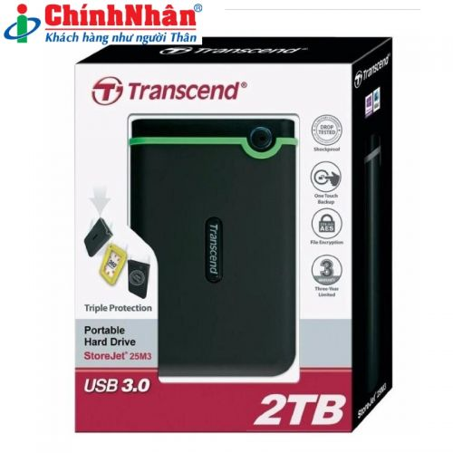 Transcend 2TB StoreJet M3S