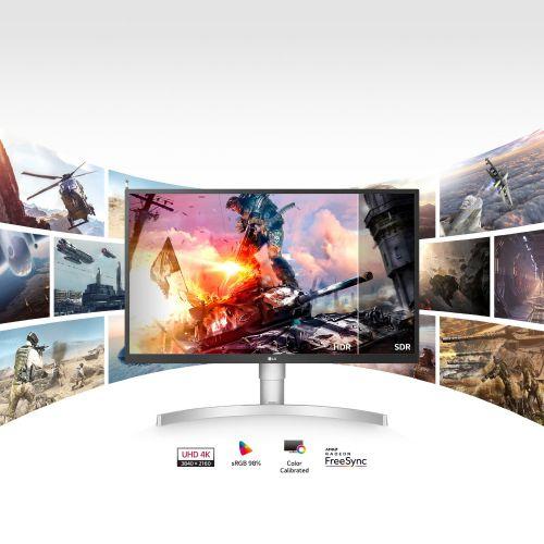 LG 27 Inch IPS 4K 27MK430H-B