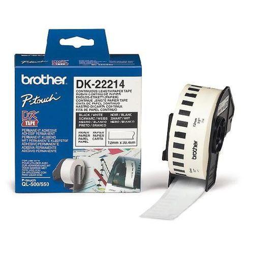 Nhãn giấy Brother DK22214