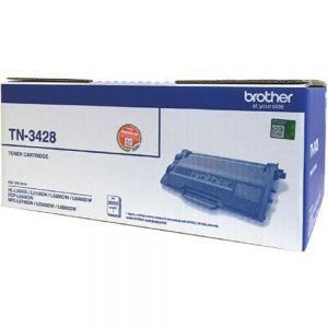 Mực in laser trắng đen Brother TN-3428