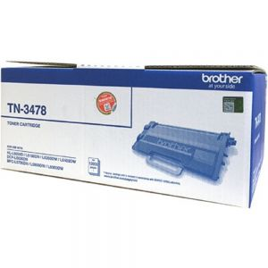 Mực in laser trắng đen Brother TN-3478