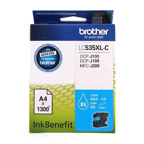 Mực in phun màu Brother LC-535XL-C