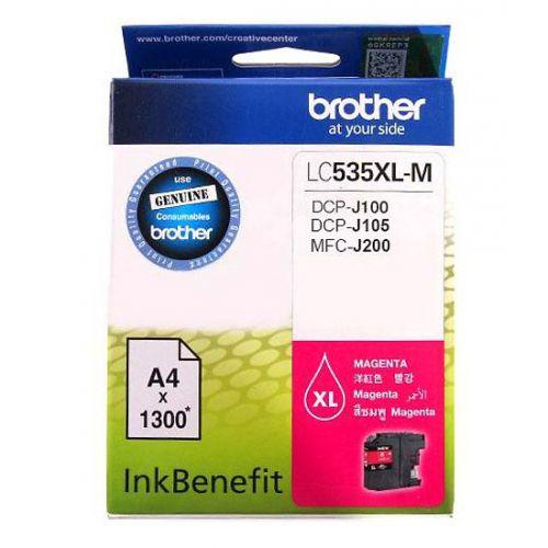 Mực in phun màu Brother LC-535XL-M