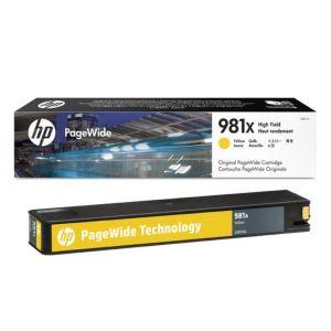 Mực in phun HP 981X Yellow L0R11A