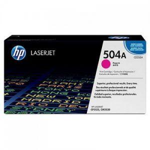 Mực HP 504A laser màu CP3525-3530 CE253A