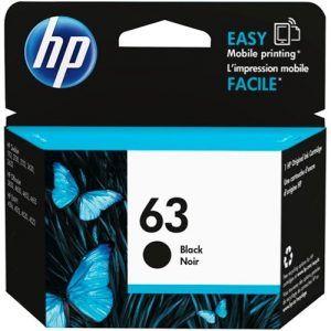 Mực in phun HP 63 Black F6U62AA