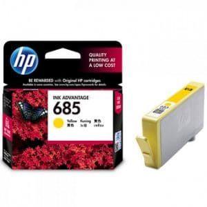 Mực in phun HP 685 Yellow CZ124AA