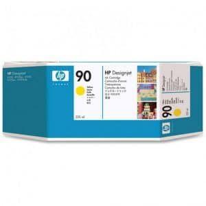 Mực in phun HP 90 Yellow C5064A