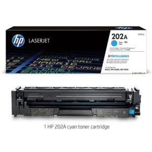 Mực HP 202A LaserJet M254 Cyan CF501A