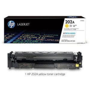 Mực HP 202A LaserJet M254 Yellow CF502A