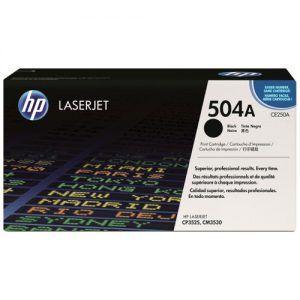 Mực HP 504A laser màu CP3525-3530 CE250A