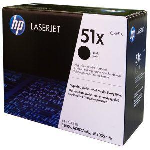 Mực HP 51X laserjet MFP printer series Q7551X