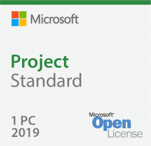 Microsoft Project Standard 2019 076-05829