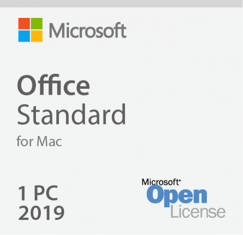 Microsoft Office MAC Standard 2019 3YF-00652