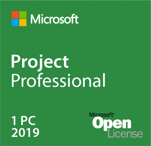 Microsoft Project Pro 2019 H30-05830