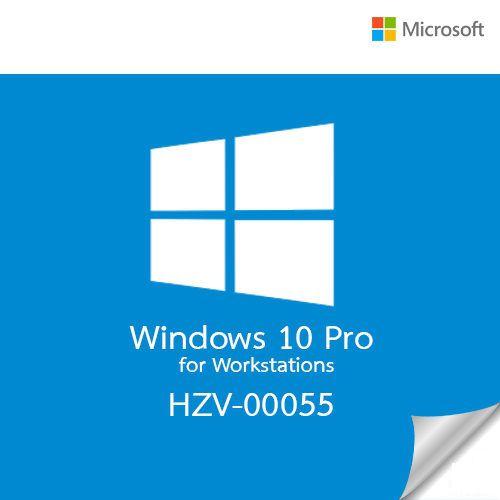 Microsoft Windows 10 Pro 64Bit HZV-00055