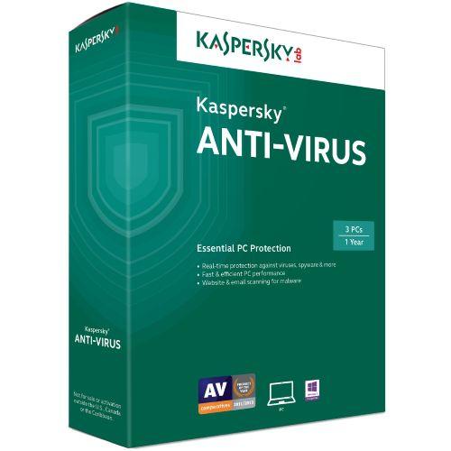 Kaspersky Anti Virus 3PC