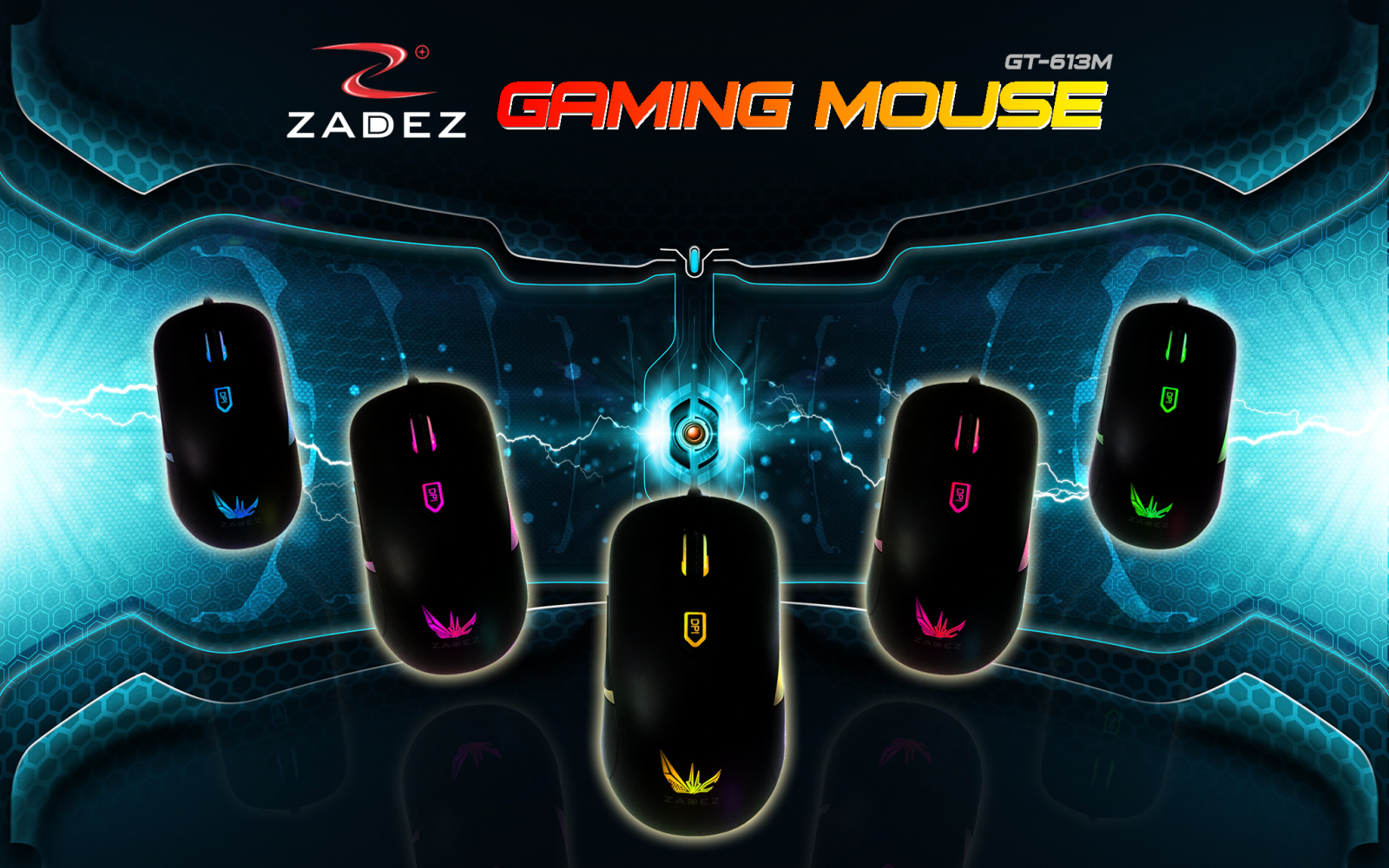 Zadez Gaming Mouse GT-613M