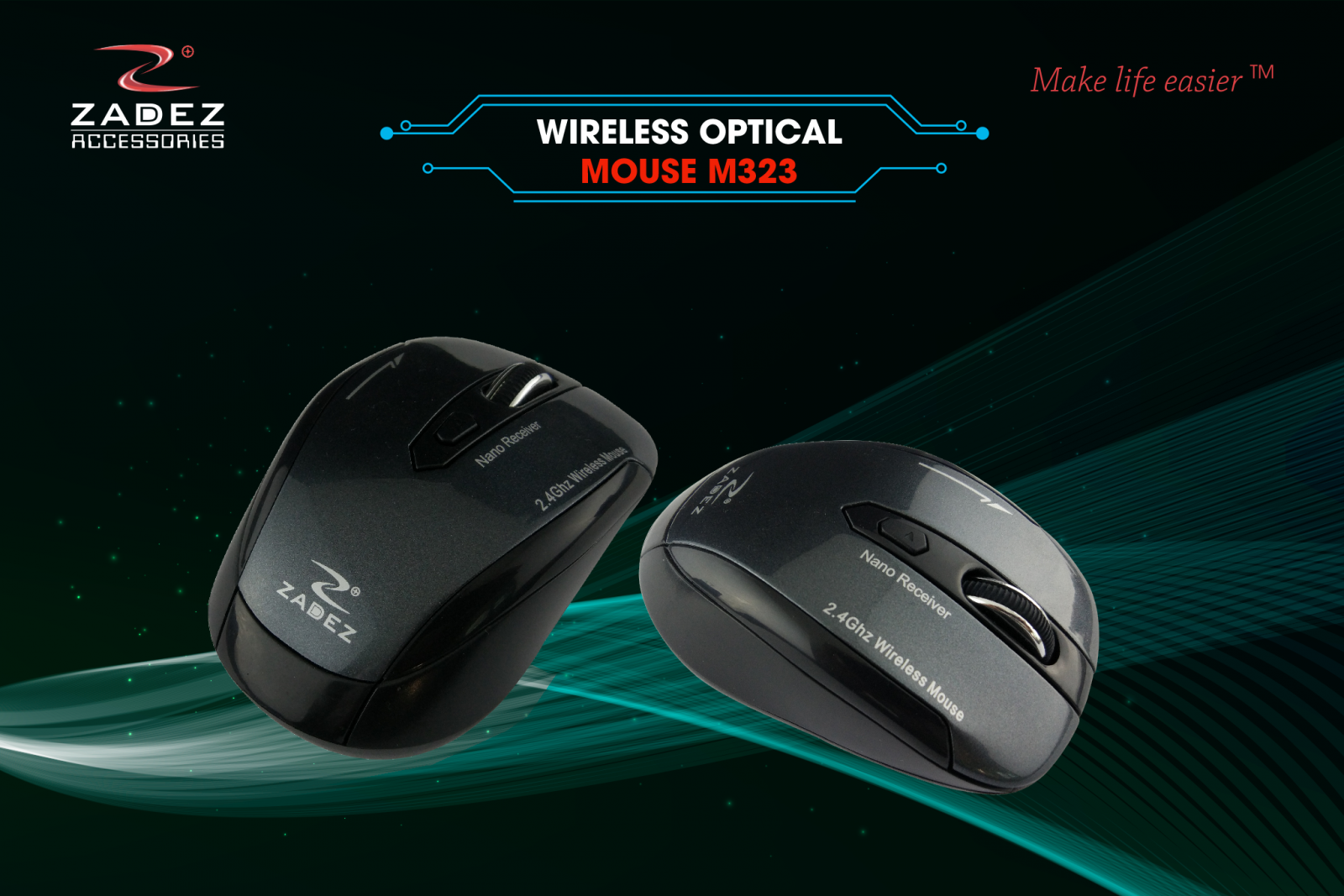 Zadez Anywhere Mouse M323