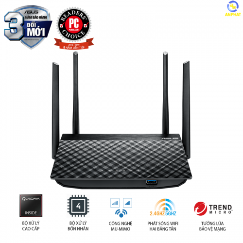 Router Wifi ASUS RT-AC58U