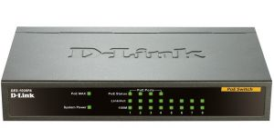 Switch D-Link DES 1008PA 8 Port Fast Ethernet PoE