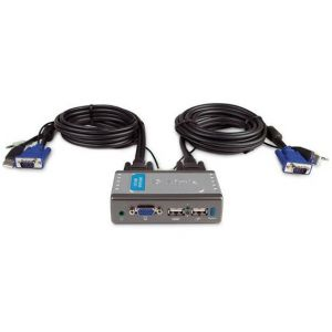 KVM Switch D-Link KVM-221 2 Port USB