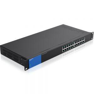 Switch Linksys LGS124P 24-Port Gigabit