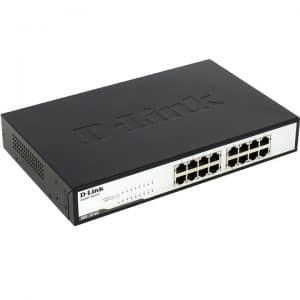 Giga switch Dlink DGS-1016C
