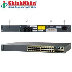 Switch Cisco WS-C2960X-24TS-L