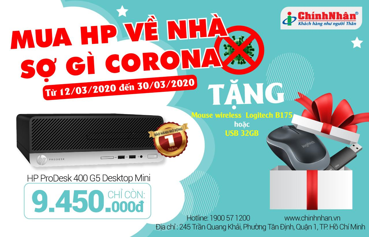 HP ProDesk 400 G5 Desktop Mini/ Core i3-9100T