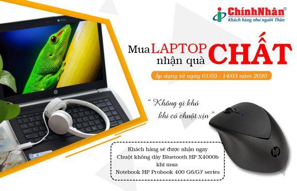 Khuyến mãi Laptop HP T3
