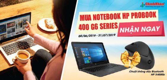 Chương trình khuyến mãi dành cho máy tính xách tay HP ProBook 430 và 450 G6