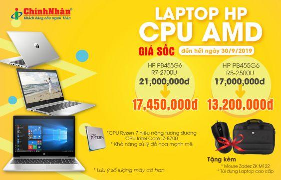 GIẢM GIÁ SHOCK, QUÀ BANH NÓC CÙNG HP CPU AMD