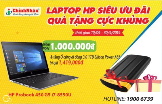 Laptop HP siêu ưu đãi – Quà tặng cực khủng