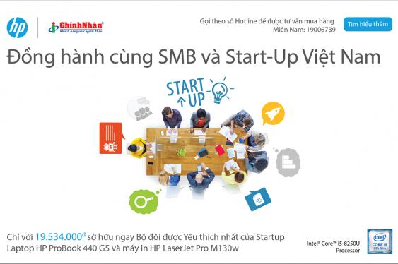 Chính Nhân đồng hành cùng SMB và Start-up Việt Nam