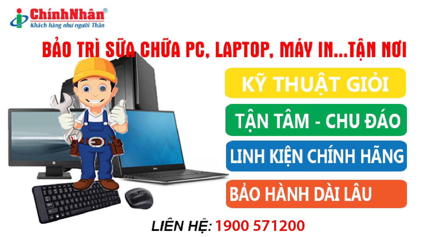 Dịch vụ sửa chữa máy tính nhanh nhất giá rẻ chất lượng