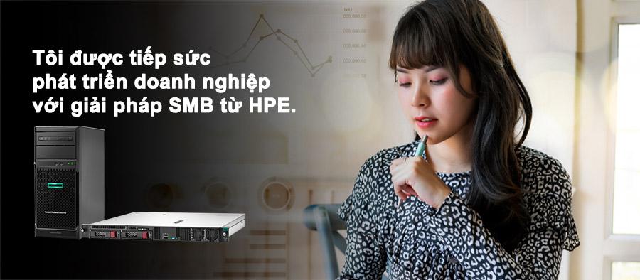 HPE tiếp sức cung SMB