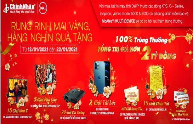 Rung rinh mai vàng - Hàng nghìn quà tặng