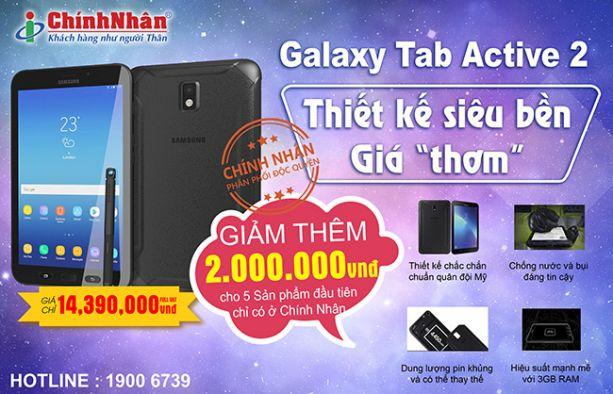 Khuyến mãi Galaxy Tab Active 2