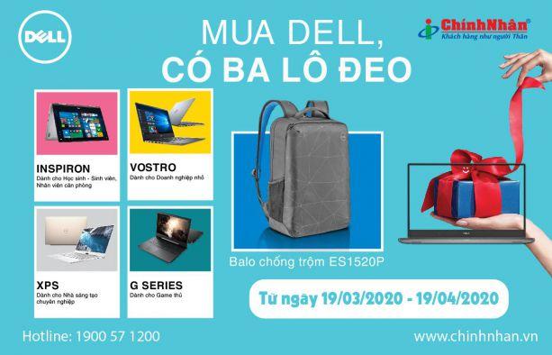 Khuyến mãi Laptop Dell T3