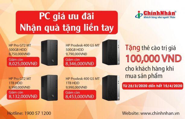 Khuyến mãi PC HP